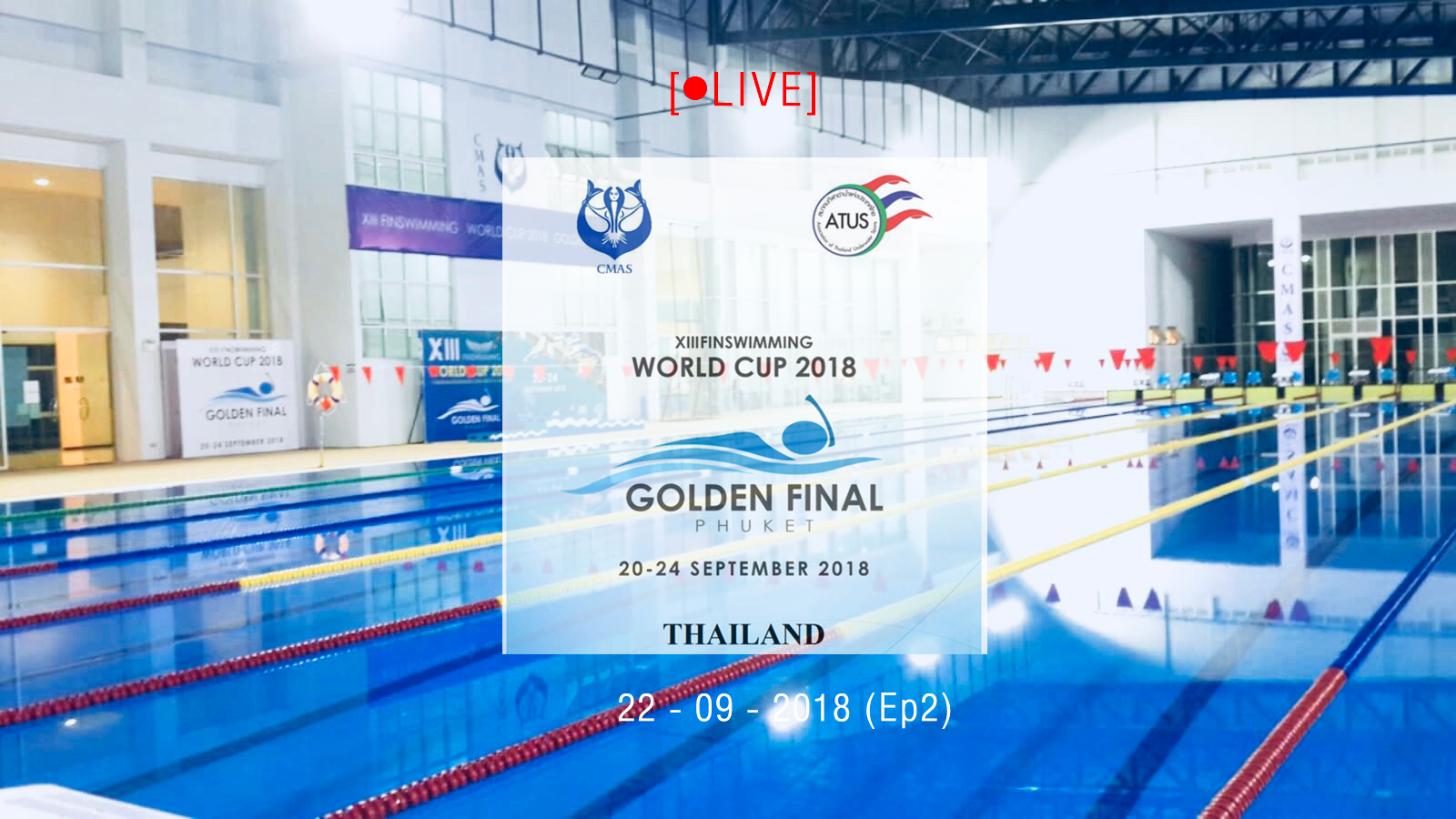 XIII FINSWIMMING WORLDCUP 2018 LIVE part2 day 1