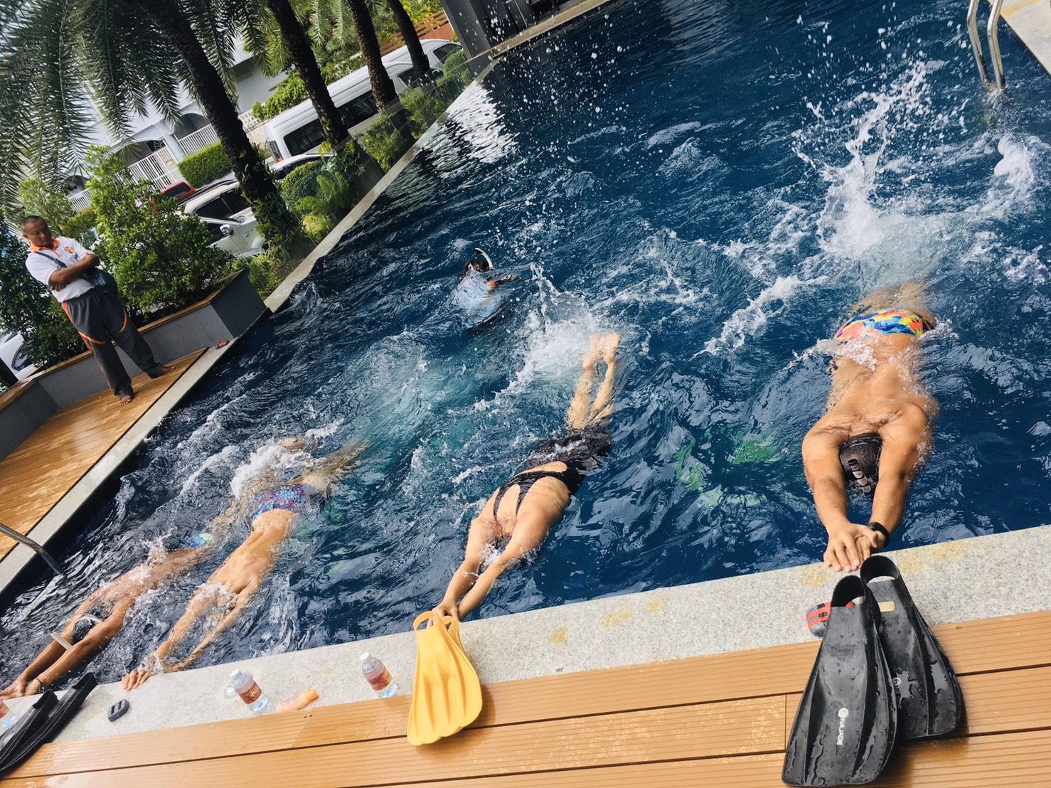 โครงการพัฒนาบุคลากรกีฬาดำน้ำฟินสวิมมิ่ง ระดับชาติ Level 1 ประจำปี 2563