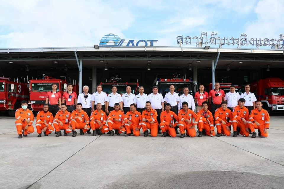 การฝึกอบรมดำน้ำกู้ภัยหลักสูตร CMAS ของทีมกู้ภัยทางทะเล ท่าอากาศยานภูเก็ตMarine Rescue Phuket International Airport